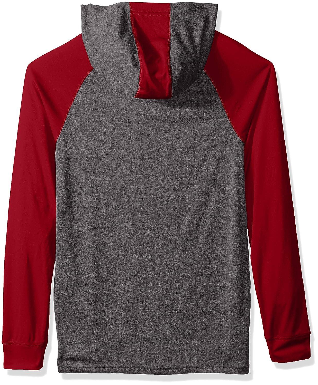 Graphite//Scarlet Ouray Sportswear NCAA Utah Utes Mens Echo Hoodie Large