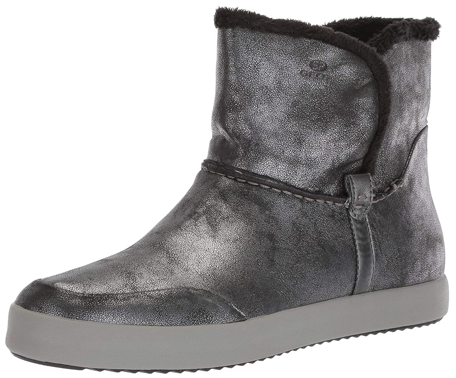 GEOX Blomiee Ladies Ankle Boot Gray