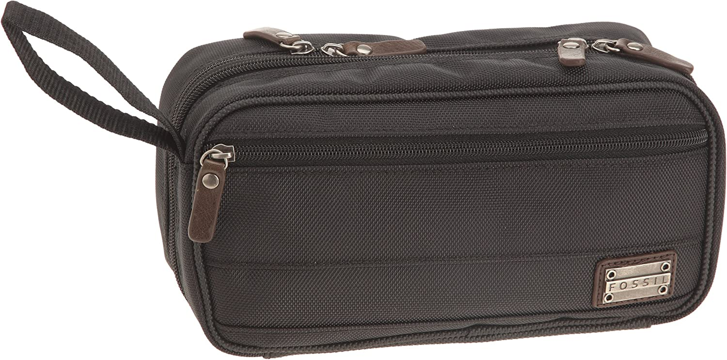 fossil mens toiletry bag