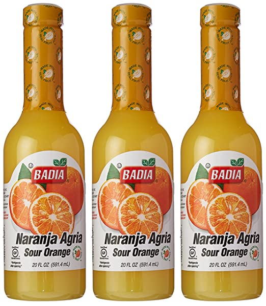 Amazon.com : Badia Orange Bitter - Naranja Agria 20 oz Pack of 3 : Grocery & Gourmet Food