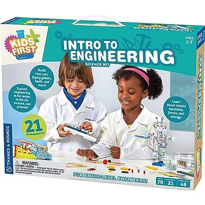 Thames & Kosmos Kids First Intro to Engineering Kit: Toys & Games