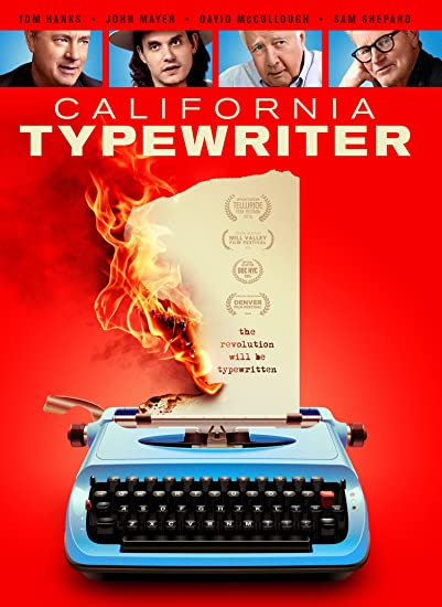 California typewriter DVD Cover Art