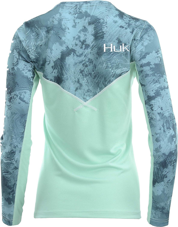 HUK Womens Camo Icon X Long Sleeve Shirt