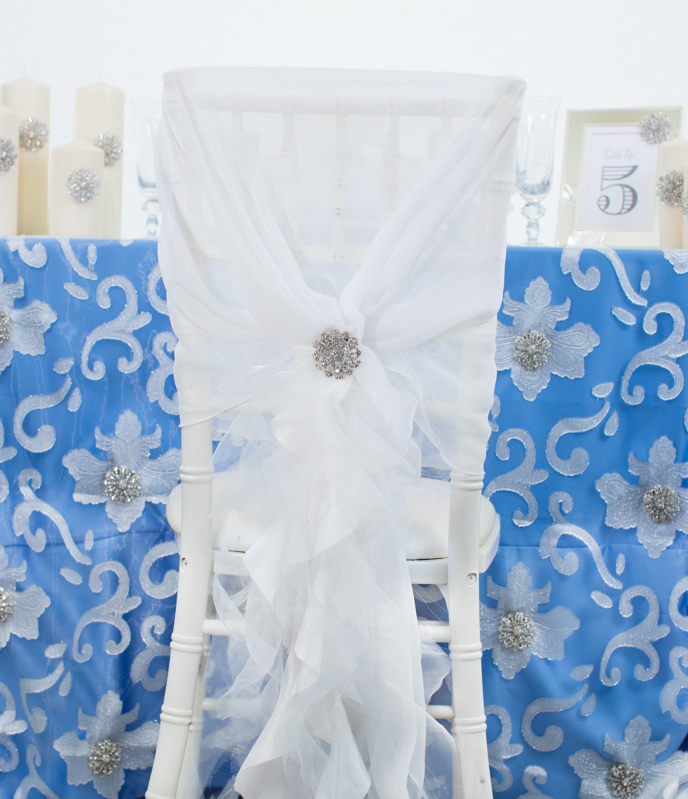 Brooches for Weddings Bulk, 100pcs Rhinestone Brooches 2 inches -Totally Dazzled by Totally Dazzled (Image #8)