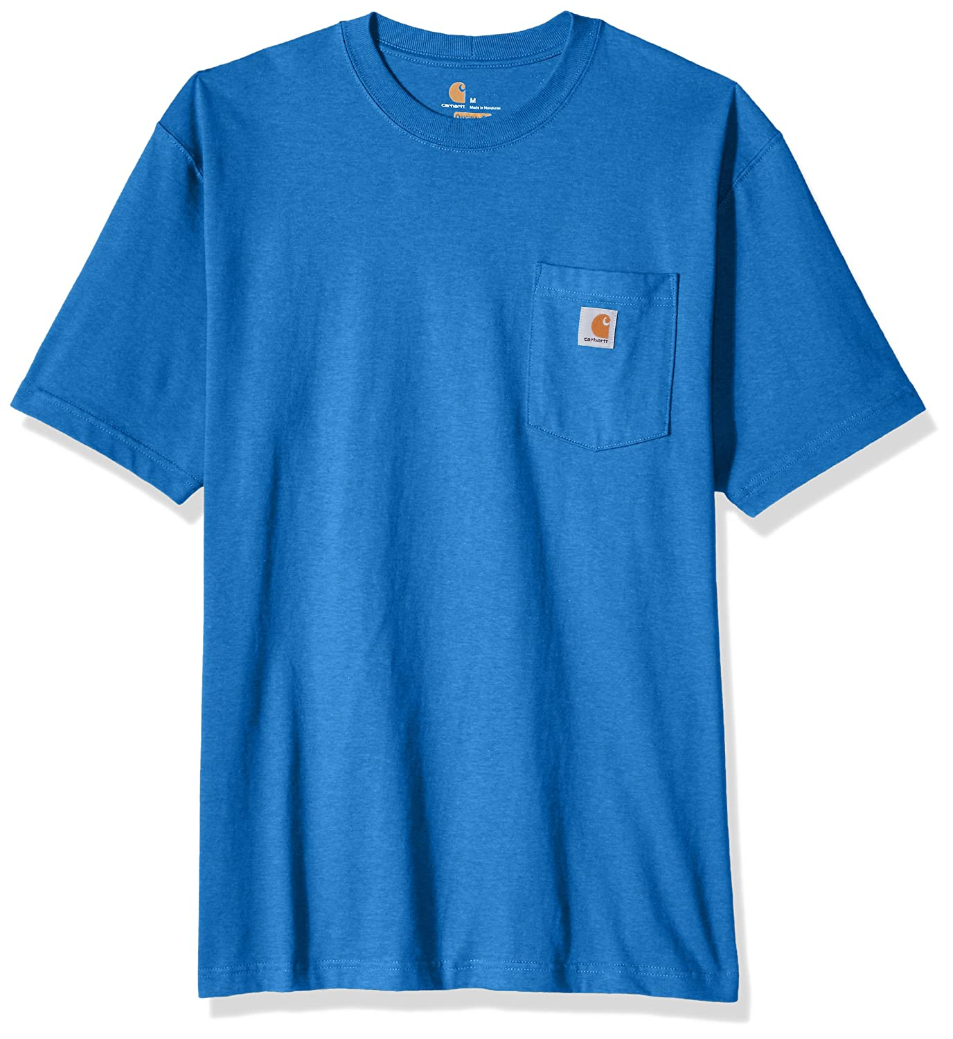 Carhartt SHIRT メンズ B01N6US0EY Small|Cool Blue Heather Cool Blue Heather Small