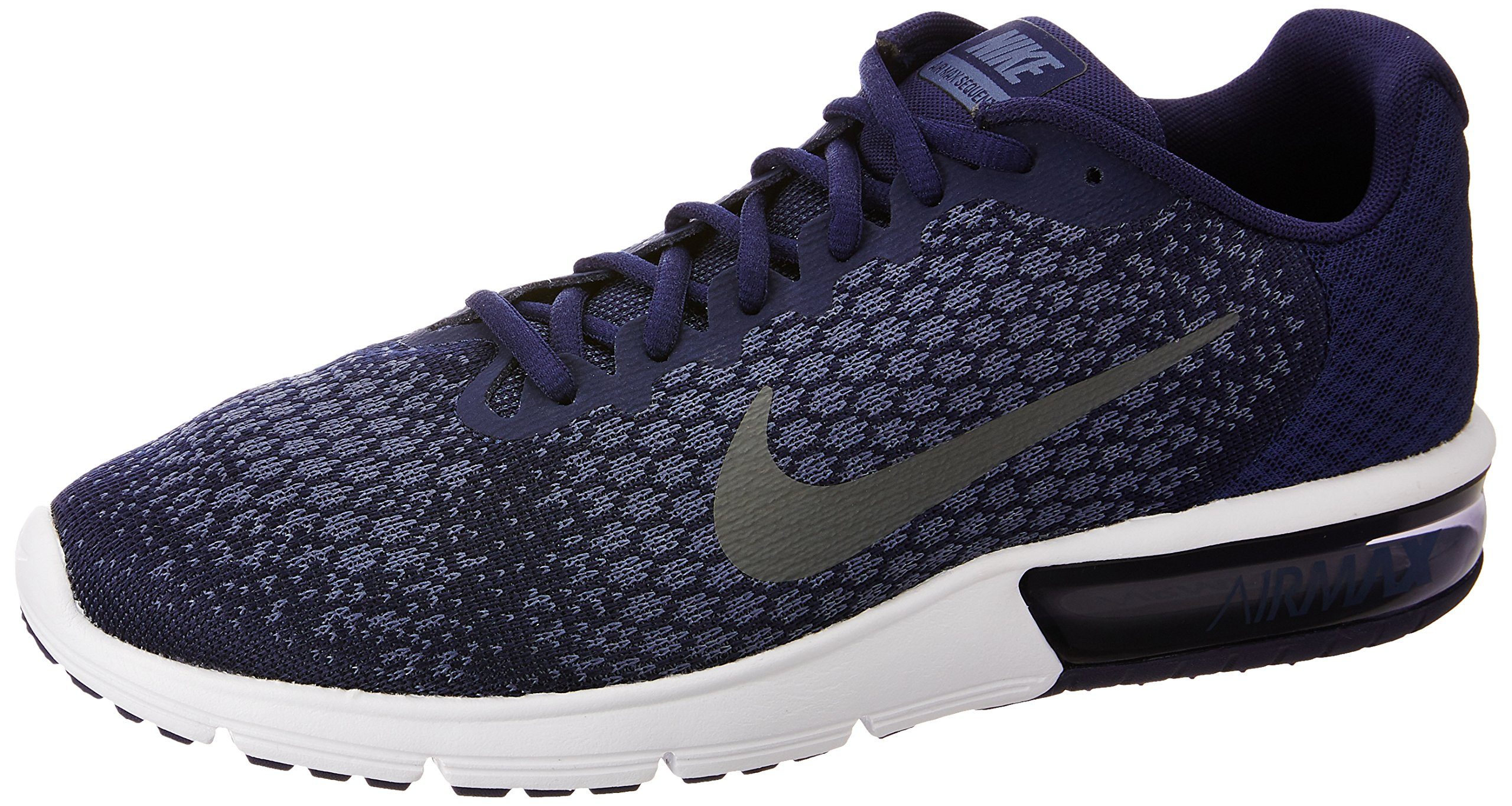 408376ba641660 Men s Nike Air Max Sequent 2 Running Shoe Binary Blue Dark Grey Dark