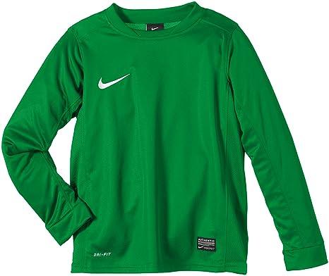 Nike LS Park V Camiseta de Fútbol de Manga Larga, niños, Pino Verde/Blanco, XL: Amazon.es: Deportes y aire libre