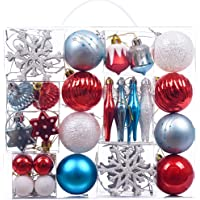 Victor's Workshop 50pcs Bolas de Navidad Decoracion Arbol