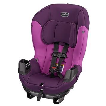 Amazon.com : Evenflo Sonus Convertible Car Seat, Dahlia : Baby