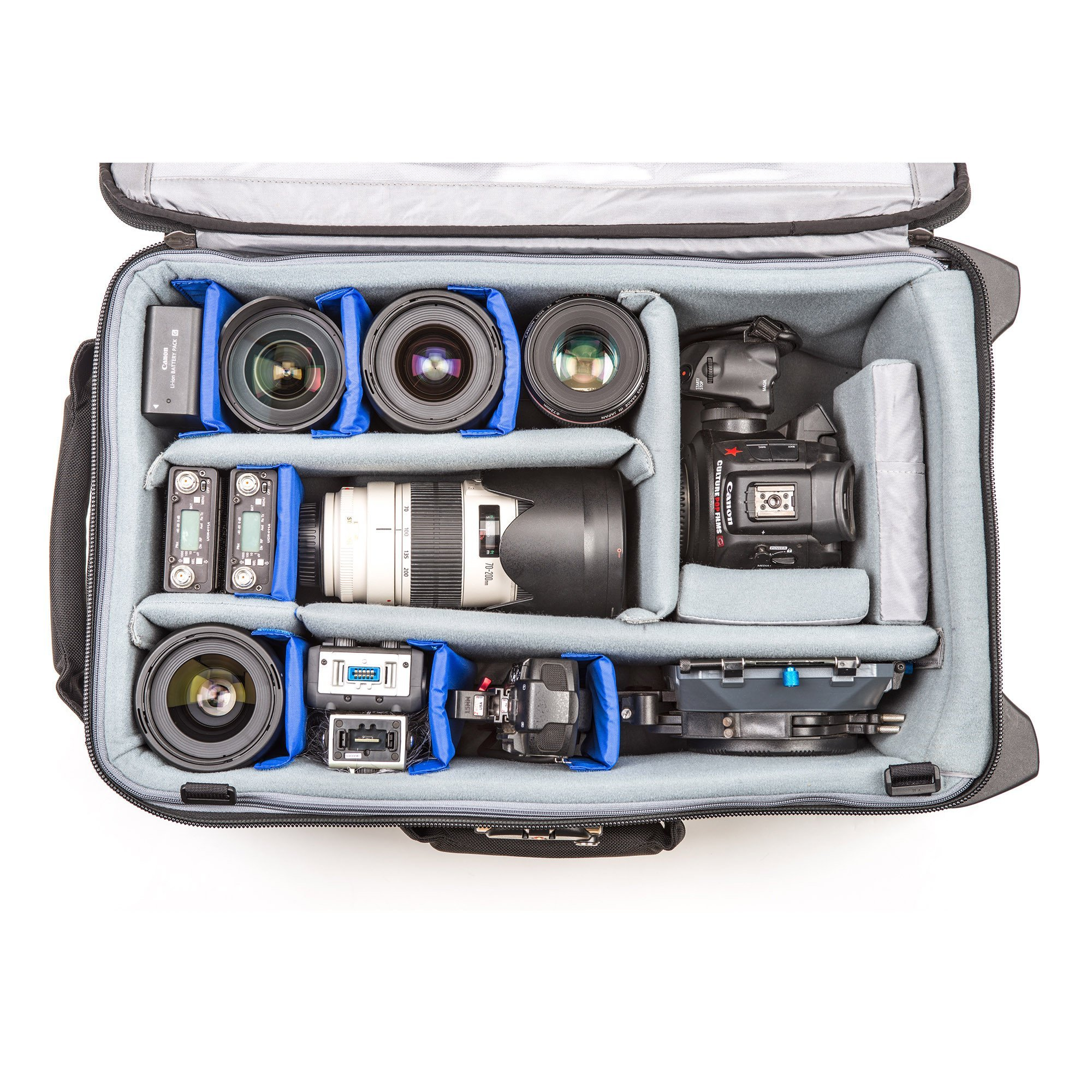 Think Tank Photo Video Transport 20 Carry-On Case (Pacific Slate) by Think Tank (Image #7)