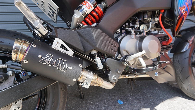 Zoom Exhaust Kawasaki Z125 Pro Z 125 2017 2018 Full Circuit T4 Complete System Motosport Black 2slz Automotive