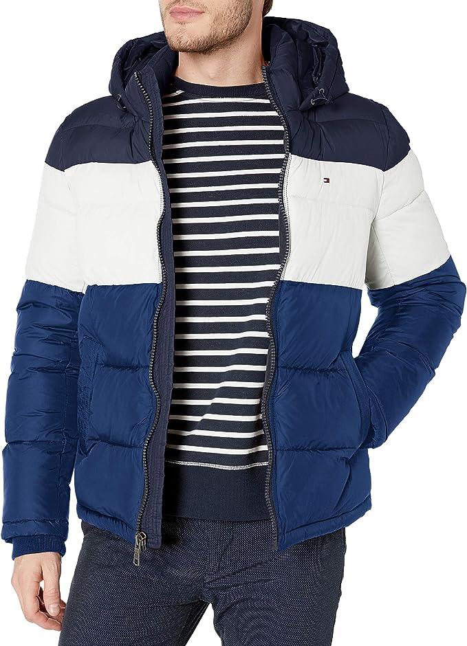 金盒特价 Tommy Hilfiger 汤米希尔费格 男式连帽棉服夹克 2折$50.46起 海淘转运到手约¥393