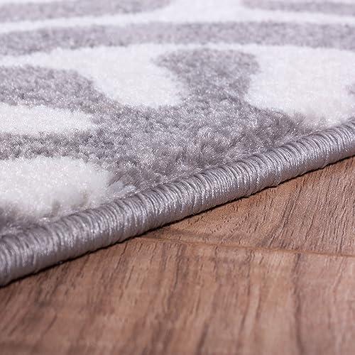 Well Woven Electro Felix Grey Modern Suzani Area Rug 7 10 X 9 10