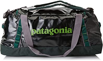 photos officielles a1c58 0c168 Patagonia Black Hole Duffel Bag 60L (Micro Green): Amazon.in ...