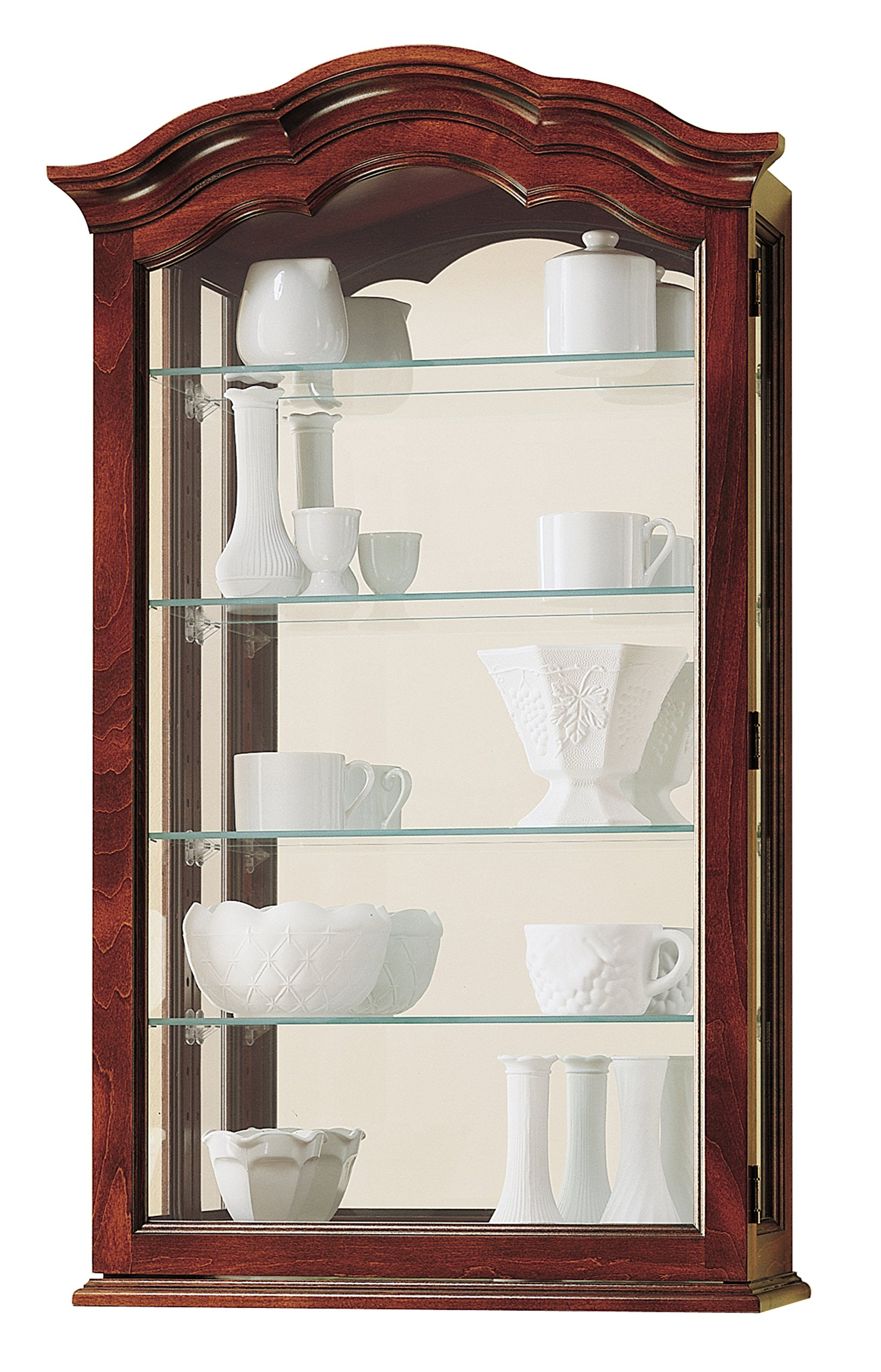 Howard Miller 685-100 Vancouver Curio Cabinet by