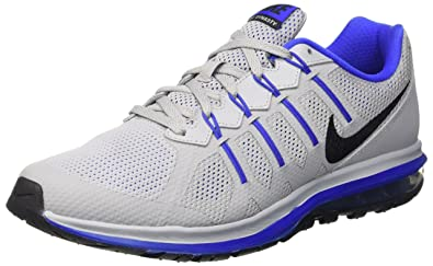 Nike Men's Air Max Dynasty Running Shoes, Gris (Gris (Wolf Grey/Black