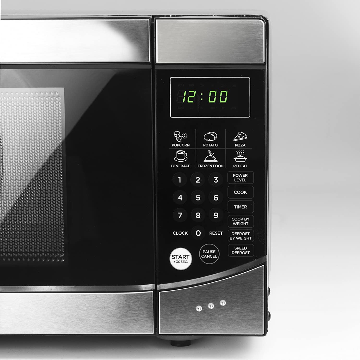 Amazon.com: Westinghouse WM009 900 Watt Counter Top Microwave Oven ...