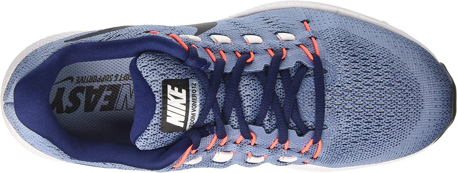 Nike Air Zoom Vomero 12 - Zapatillas de Entrenamiento Hombre, Azul (Work Blue/dark Obsidian/binary Blue), 44: Amazon.es: Zapatos y complementos