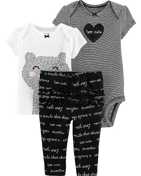 Amazon.com: Carters 126g316 - Juego de 3 piezas para bebé ...