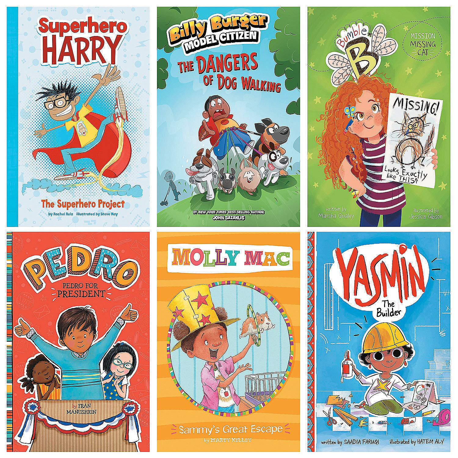 Fun Express - Realistic Fiction Book Set - Gr1-2 - Educational - Teaching Aids - Language Arts - 6 Pieces by Fun Express