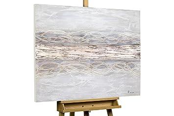 KunstLoft® Acryl Gemälde U0027Bebende Erdeu0027 100x75cm | Original Handgemalte Leinwand  Bilder XXL |