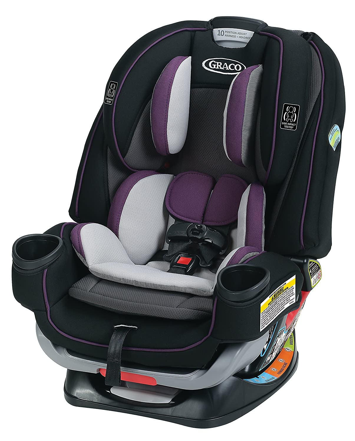 Gracobaby 4Ever Extend2Fit 4-in-1 Convertible Car Seat, Jodie