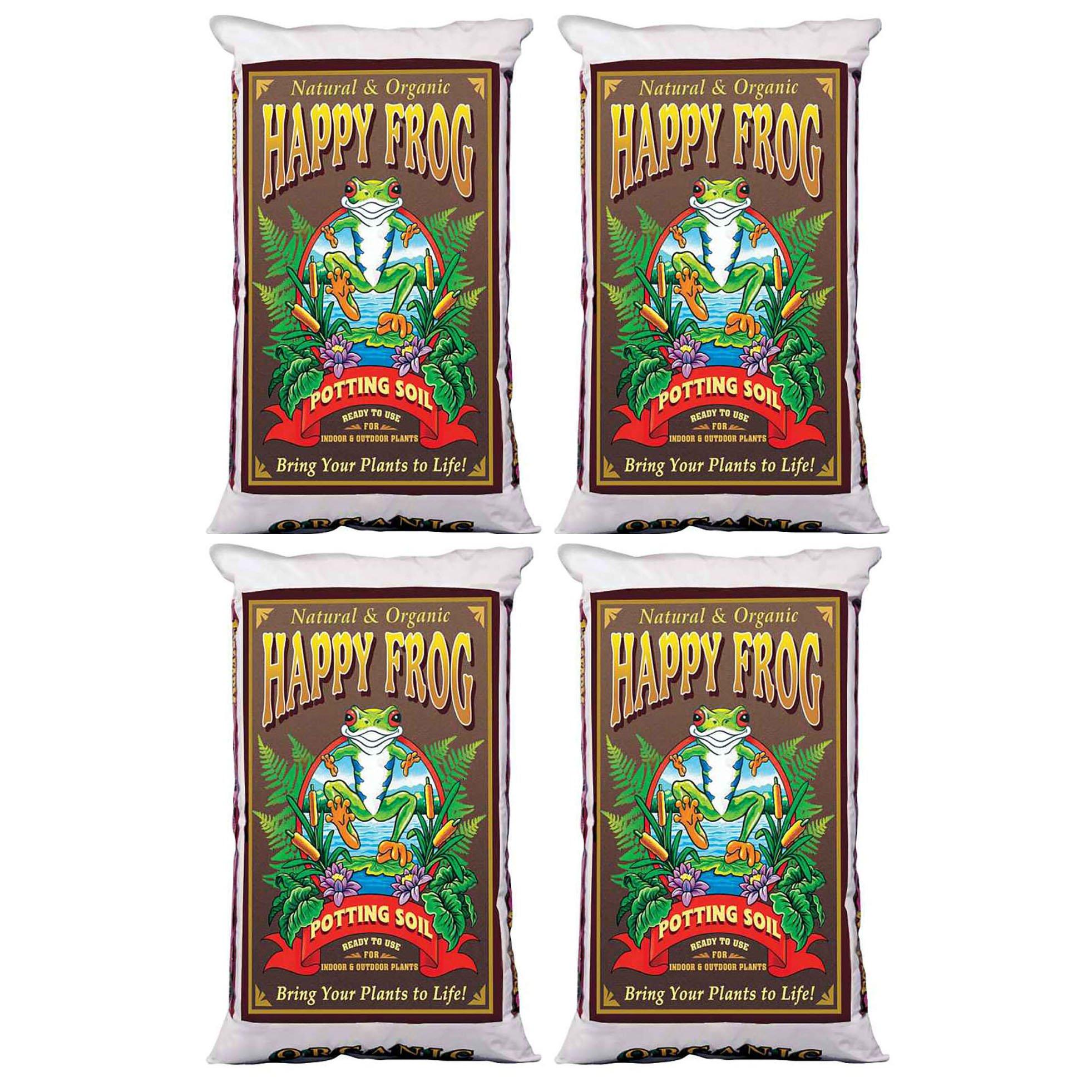 FoxFarm Happy Frog Nutrient Rich Rapid Growth Potting Soil, 8 Cu Feet   FX14081
