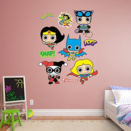Fathead DC Comics Girl Power Collection