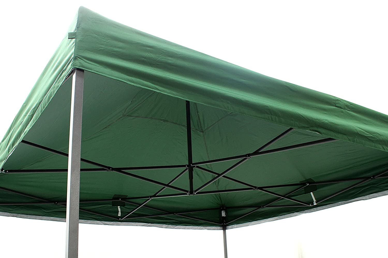 4 Teli Laterali ha in Dotazione Una Sacca per Il Trasporto Verde All Seasons Gazebos Robusto Gazebo Pieghevole da 3m x 3m Completamente Impermeabile 17 Colori a Scelta