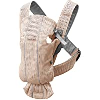 BABYBJÖRN Baby Carrier Mini, 3D Mesh, Pearly Pink