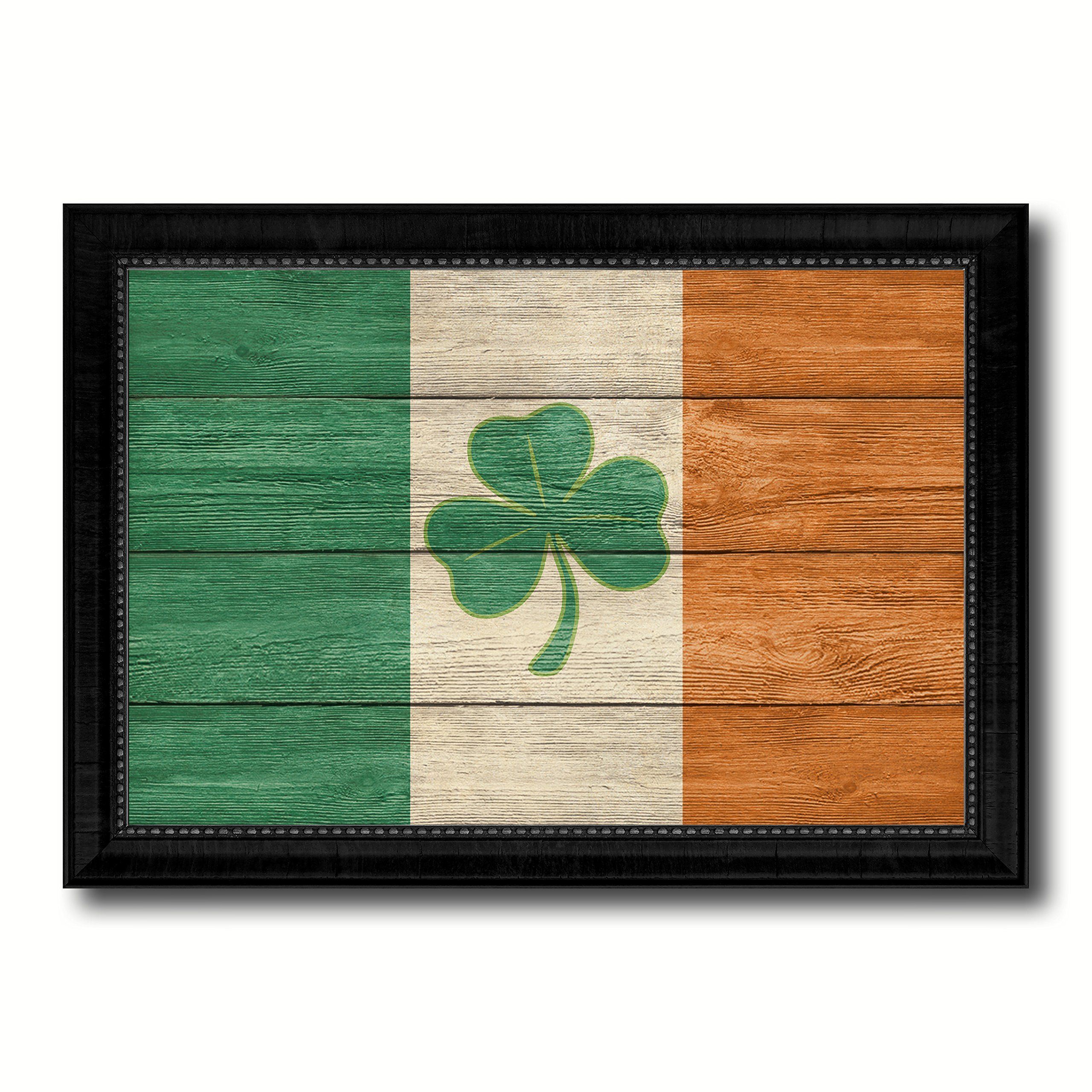 Ireland Saint Petrick Military Texture Flag Canvas Print Picture Frames Patriotic Office Home Decor Wall Art Decoration Gifts 23''x33''