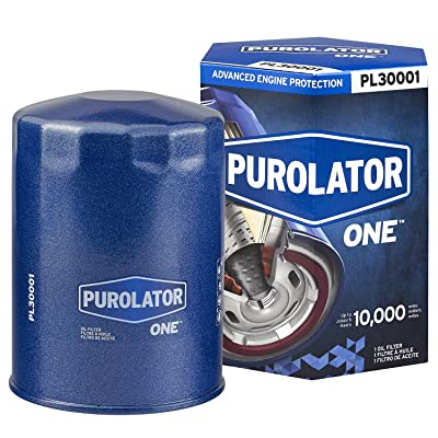 Purolator PL30001 Blue Single PurolatorONE Advanced Engine Protection Spin On Oil Filter: Automotive