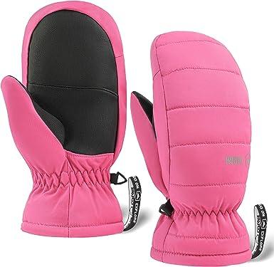 Details about  /Winter Waterproof Warm Kids Boys Girls Gloves Ski Children Mittens Snow Trend