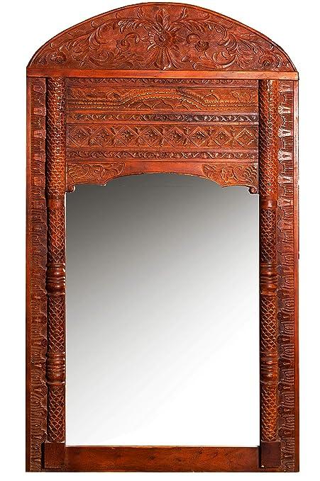 Orient Taj - Espejo de pie (4-190 cm, con Marco de Madera ...