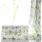 Lucear Asciugamano da Bagno di Cotone Mussolino per Il Bambino Neonato