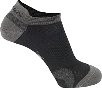 Aclima Ankle - Calcetines - 2 Pack Gris/Negro Talla del Calzado 40/43