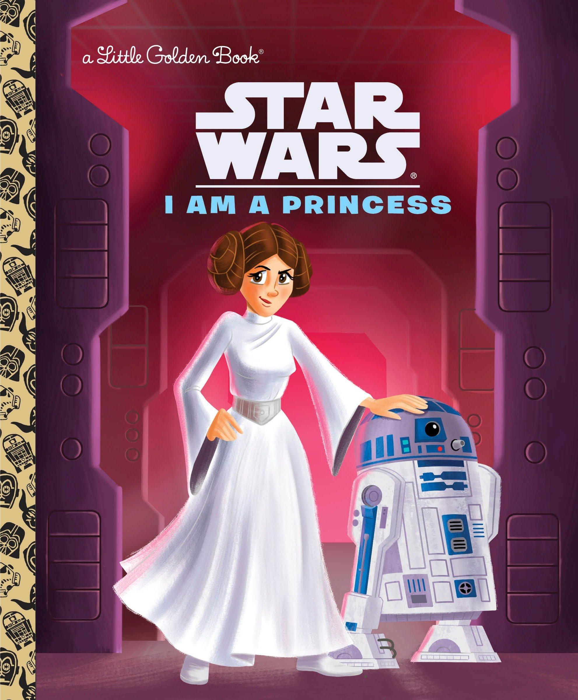 I Am a Princess (Star Wars) (Little Golden Book): Courtney Carbone, Heather  Martinez: 9780736436052: Amazon.com: Books