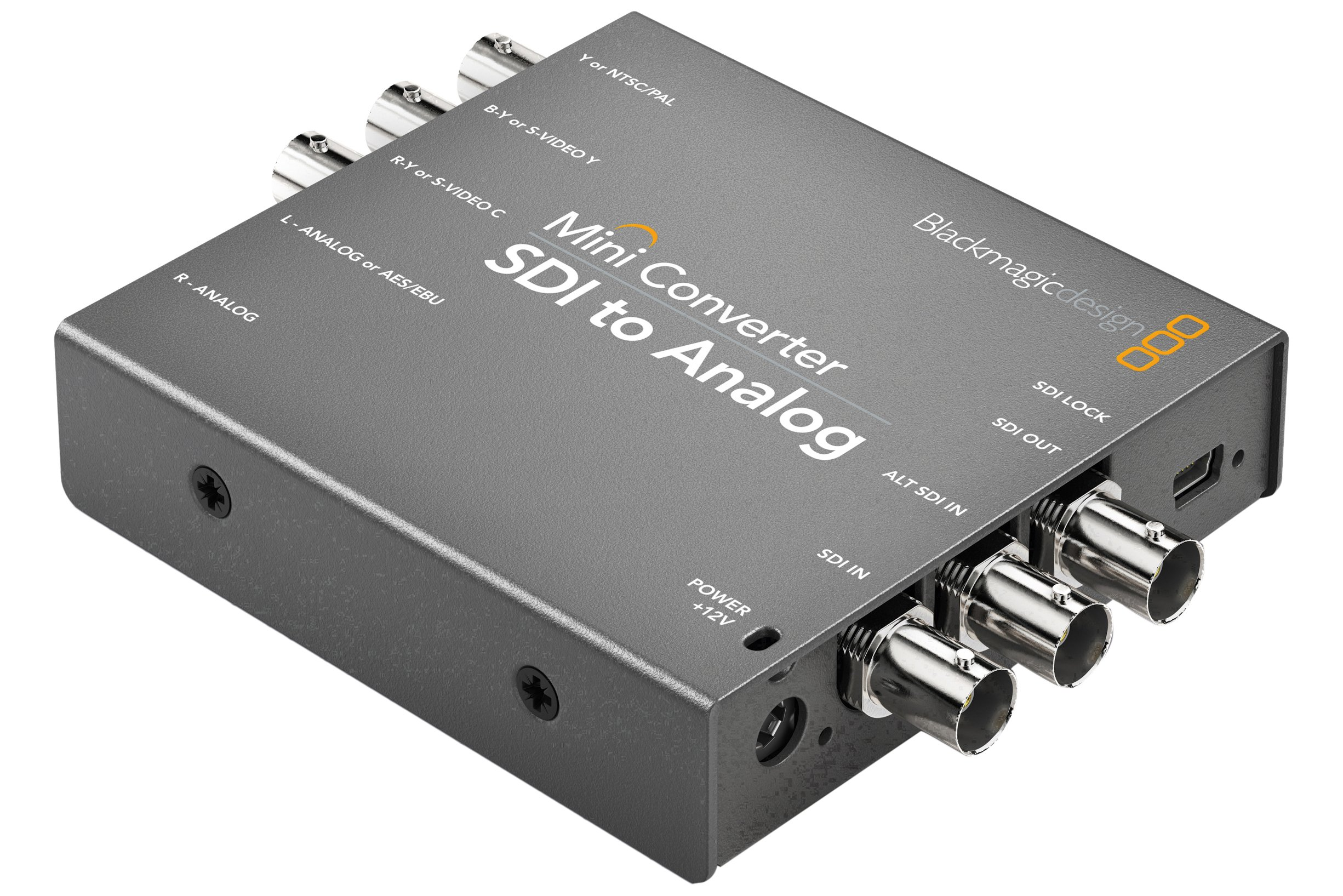 Blackmagic Design Mini Converter SDI to Analog with Embedded Audio