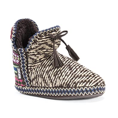 Muk Luks Women's Amira Slipper, Multi, ...