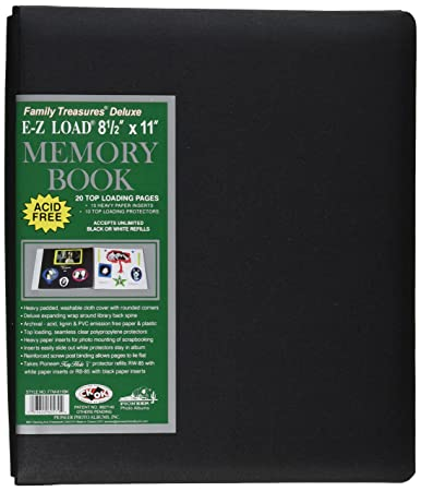 Amazoncom Pioneer 8 12 Inch By 11 Inch Family Treasures Deluxe