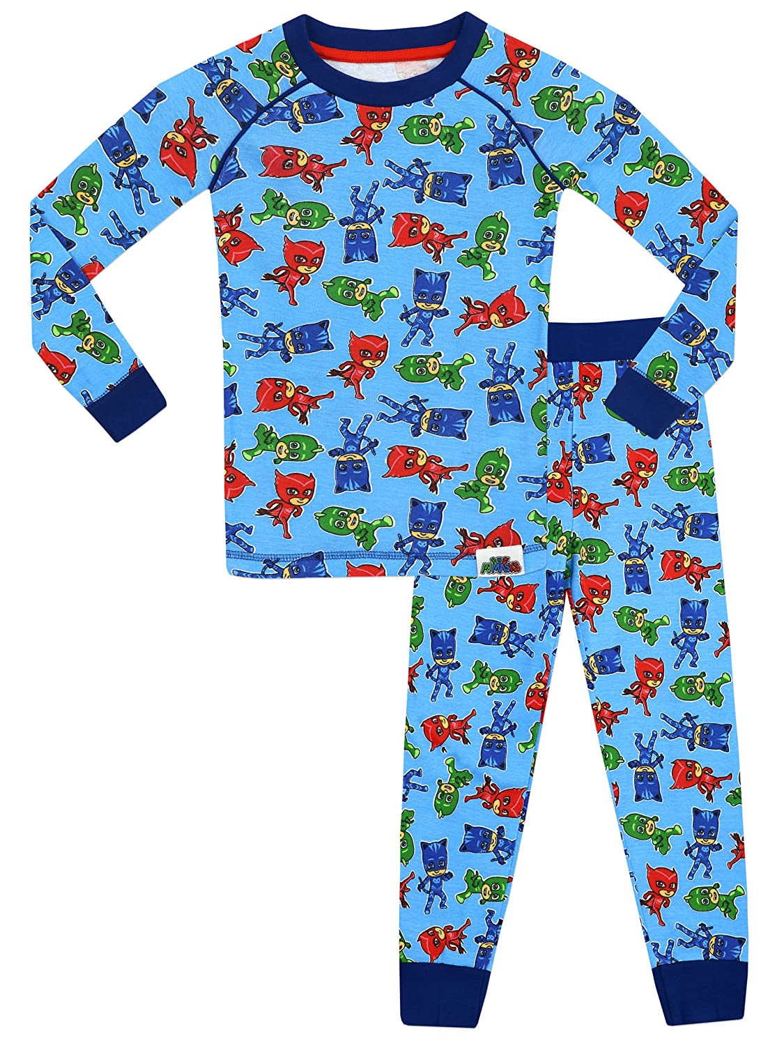 PJ MASKS Boys Pyjamas - Snuggle Fit - Ages 3 to 10 Years