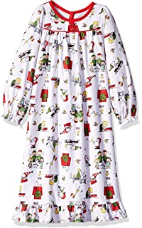 Amazon.com  Peanuts Toddler Girls Christmas Holiday Granny Gown ... e1bd052cb