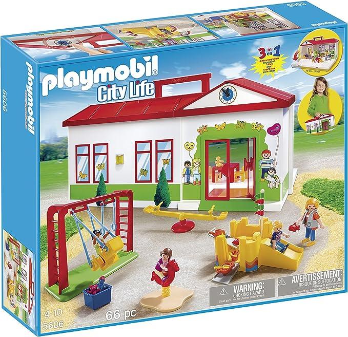 Amazon Jouer Ensemble City Life Nursery Playgroup Playmobil ÁŠã''ちゃ ÁŠã''ちゃ