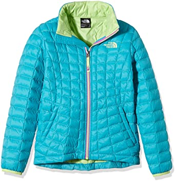 af04d4006f THE NORTH FACE Mädchen Jacke G Thermoball Full Zip Jacket, Bluebird, S,  0732075027025