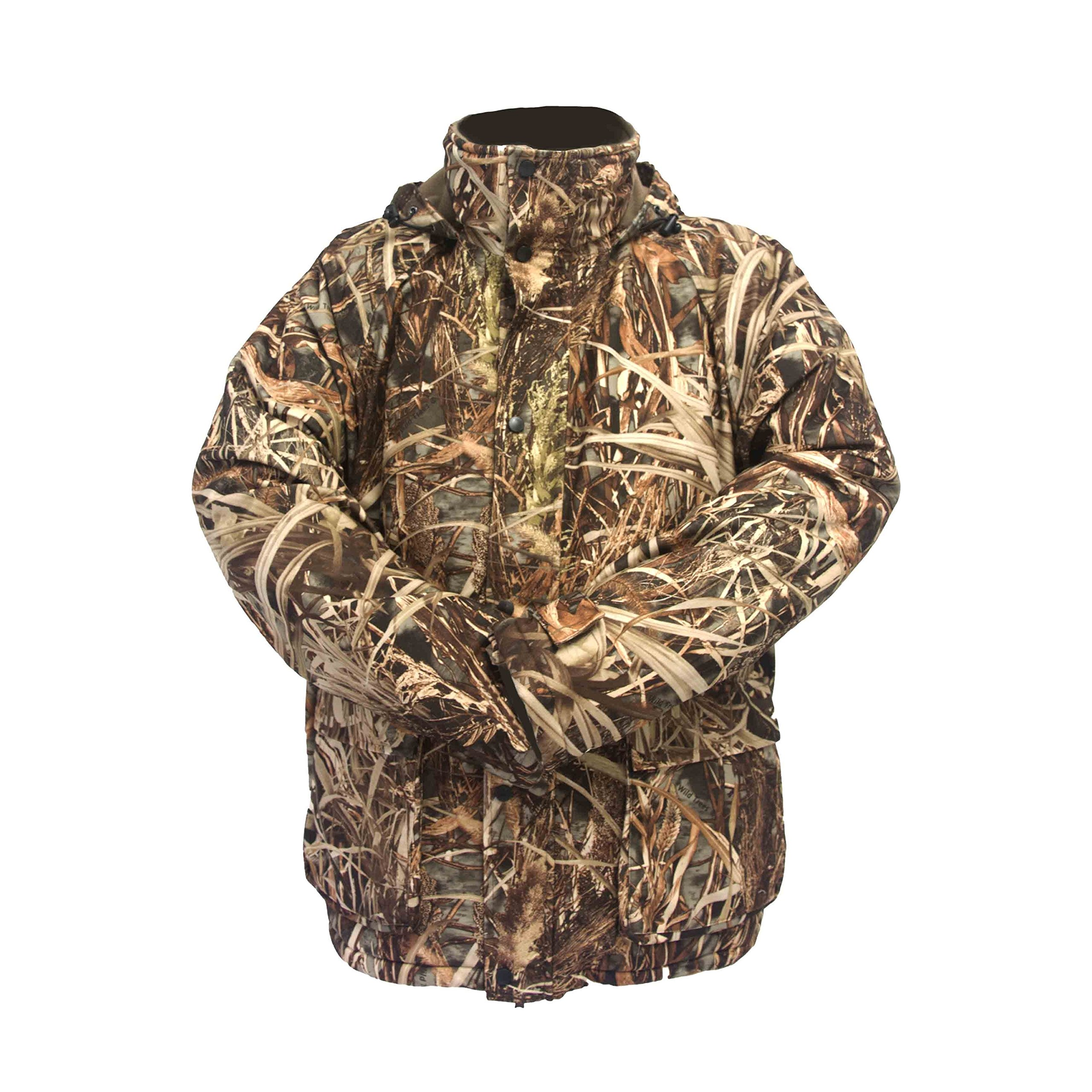 Wildfowler Outfitter Men's Wild Grass Waterproof Insulated Parka by Wildfowler