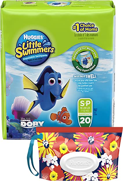 20 Count Disposable Swimpants Huggies Little Swimmers Small