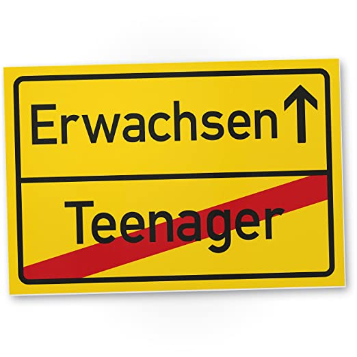 DankeDir!. Adulto (Teenager) - de plástico - Rótulo/Lugar ...