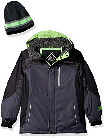 9bed62254 Amazon.com  ZeroXposur Big Boys Chamfron Snowboard Jacket  Clothing