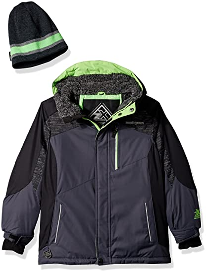 21d95d73e ZeroXposur Big Boys Chamfron Snowboard Jacket