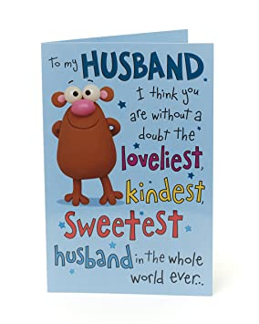 Husband Birthday Card Funny